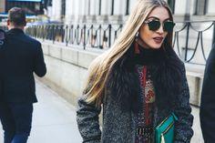 Street Style invitadas New York Fashion Week   Galería de fotos 85 de 152   GLAMOUR