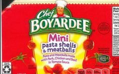 #Put down that pasta: 'Chef Boyardee' among 6 recalled spaghetti and meatball products - Sacramento Bee: Sacramento Bee Put down that…