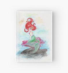 Ariel Little Mermaid hardcover journal