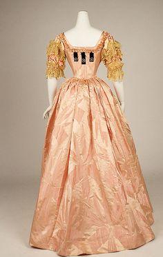 Ball gown Jacques Doucet (French, Paris 1853–1929 Paris) Date: 1897 Culture: French Medium: silk
