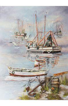 Boat Art, Original Paintings, Florida, The Originals, Etsy, Products, The Florida, Gadget