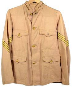 American Uniform, Benjamin Harrison, The Spanish American War, Rough Riders, Army & Navy, United States Army, Military Jacket, Raincoat, Tunic