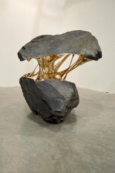 "rhubarbes: "" Romain Langlois Sculpture via designcollector.net """