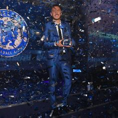 Eden Hazard becomes the 1st Player to win the ChelseaFC Player of the Year award four times. What a Player!👑🔥