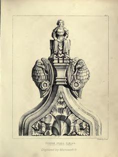 Gothic Ornaments, Augustus Pugin