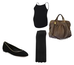 """""""Ritsu Maternity"""" by shattereddemon ❤ liked on Polyvore featuring M&Co, Diane Von Furstenberg and Marc Jacobs"""