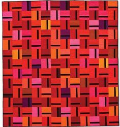city tracks by cherry house quilts, via Flickr