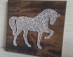 Image result for horse string art