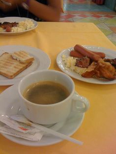 Caesar Palace Hotel, Giardini Naxos, Messina, Italia #caffe #bacon #uova #toast #colazione
