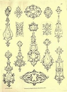 Knight's Unique Fancy Ornaments 1834 -20   Flickr - Photo Sharing!