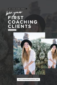 FREE Workshop to win your first coaching clients OR to win more clients or a different type of client for your coaching business!  Presented as a 4-part video series you can watch anytime. Life coaches | Health coaches | Coaching tools