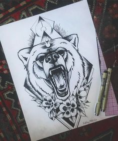 Discover recipes, home ideas, style inspiration and other ideas to try. Face Tattoos, Wolf Tattoos, Body Art Tattoos, Sleeve Tattoos, Tattoo Outline, Tattoo On, Cover Tattoo, Blackwork, Estes Park Colorado