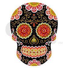 tete de mort mexicaine dessin - Recherche Google