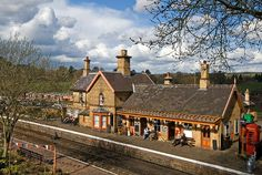 Arley Station on the Severn Valley Railway.