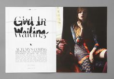 Autumn/Winter 2011 - 214 Topshop instore magazine. Art directed and designed by USEFUL (www.weareuseful.com)