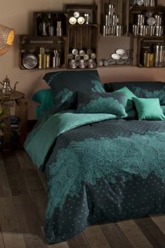 Housse de couette Desigual Puntilla Bluebird.... I want this!