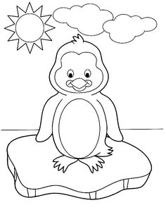 cute penguin coloring pages and sheets httpfreecoloring pagesorg