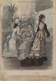 Illustrirte Frauen Zeitung 1876