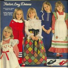 Sears Wishbook 1978 - I wasnt one of these dresses for E!