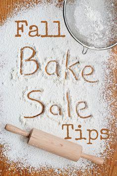 Fall Bake Sale Tips #moneymaker                                                                                                                                                                                 More