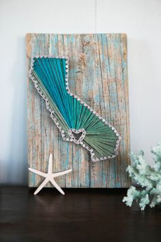 California Driftwood String Art by CoastalCreationsNJ on Etsy
