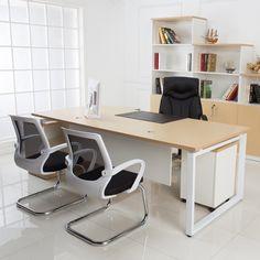 Modern Special Boss Furniture Office Desk Wooden Executive Fancy