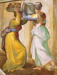 Sixtinische Kapelle, Michelangelo, Judith mit dem Haupt des Holofernes (Judith with the head of Holofernes) by HEN-Magonza, via Flickr