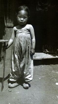 Korean Girl made Homeless by the War, Seoul, Korea, 1904, photo by Jack London