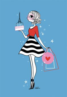 Illustration Parisienne, Paris Illustration, Illustrations, Bastille, Album Jeunesse, Origami Paper Art, Swatch, Kenzo Kids, Image Makers