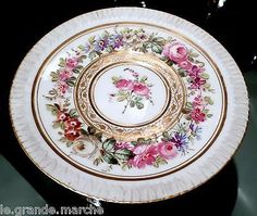 ANTIQUE-Mre-IMPE-IMPERIAL-SEVRES-FINEST-HAND-PAINTED-PORCELAIN-CUP-SAUCER-SET