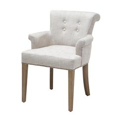 Chairs & Sofa's Eichholtz Home collection The Netherlands. Extra information linen Chair Key Largo camel, white, Grey en black. French Furniture, Large Furniture, Furniture Design, Furniture Chairs, White Furniture, Dining Arm Chair, Dining Room Chairs, Dining Table, Dining Rooms