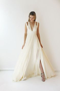 """Is your big day coming up? Check out these wedding dress trends that are perfect for saying """"I do"""" under the summer sun. Dresses available at http://www.leannemarshall.com/shop/"""