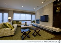 Honore Transitional - idea for our new living room to get a fireplace