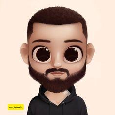 Dollify me  Cute Cartoon Boy, Animated Man, Fan Art, Boy Hairstyles, Big Eyes, Disney, Cute Babies, Mickey Mouse, Short Hair Styles