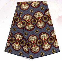 Latest fashion design fashion design African super wax fabric African wax prints fabric for dress 6yards/lot Free shipping JIWY1(China (Mainland))