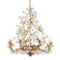 Vaughan Designs Fleville Crystal Chandelier - -