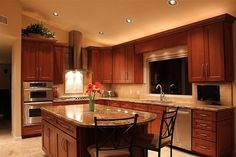 maple color kitchen cabinets - Google Search