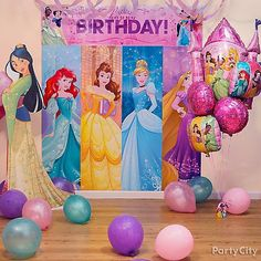 Check out our Disney Princess birthday party ideas for princess birthday cakes, kids' birthday party food ideas, and more! Princess Birthday Party Decorations, Sofia The First Birthday Party, Disney Princess Birthday Party, Princess Theme Party, 4th Birthday Parties, 3rd Birthday, Birthday Crowns, Cinderella Party, Baby Party