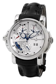 ULYSSE NARDIN Sonata Cathedral Dual Time - White Gold