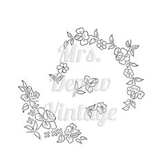 1940's Vintage Embroidery Transfers E-book Motifs for by Mrsdepew