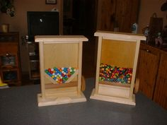 Clean Candy Dispensers
