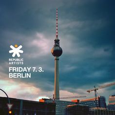I Am Magdalena Meets Legends - Republic Artists Records March 7, The Dj, Techno, Berlin, Legends, Stage, Friday, Meet, Icons