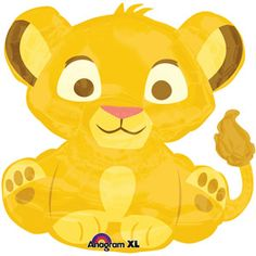 Lion King Baby Simba Shaped Balloon $6.99 Walmart.com