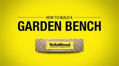 The garden bench plan is simple enough to build multiple sizes in just one day. Garden Bench Plans, Do It Yourself Projects, Picnic Table, Easy Diy, Diy Projects, Backyard, How To Plan, Simple, Building