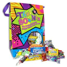 80's Decade Retro Candy Bag - Retro Candy, Glass Bottle Sodas & Quirky Gifts - Blooms Candy & Soda Pop Shop