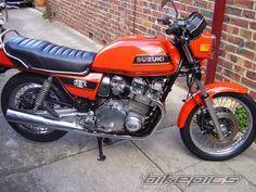 1980 Suzuki GSX 1100 RESTORED IN 45 hours over 8 days.