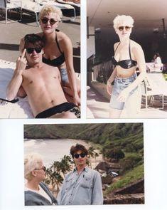 Johnny Depp & Sherilyn Fenn