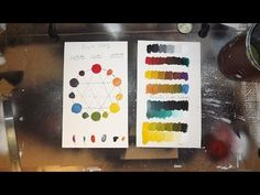 Acrylic Painting Tutorial - Color Theory Exercises - YouTube
