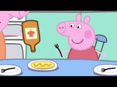 Making Pancakes With Peppa Pig! - YouTube