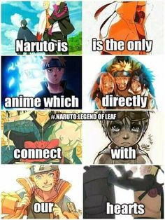 Yes after all the anime I've watched Naruto is the only anime in which I can actually connect to